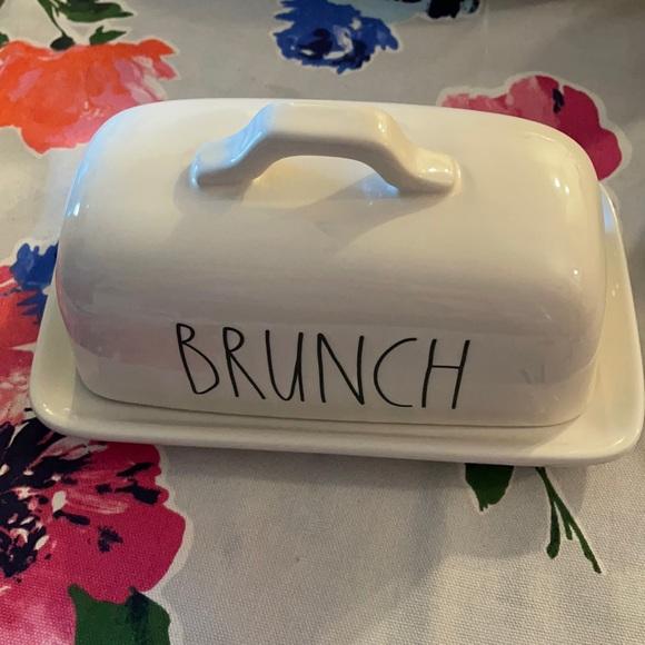 Brunch butter dish **Price firm** Rae Dunn